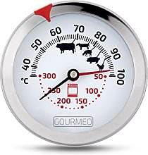 GOURMEO 2-in1 Meat Thermometer for meat and oven