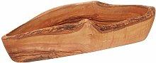 Gourmet Living Rustic Olive Wood Bread Basket |