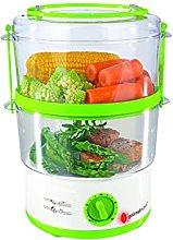 GOURMETmaxx 01019 Electric Food Steamer | Tier