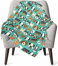GOWINEU Baby Blankets Bed Bedding Cozy Picnic