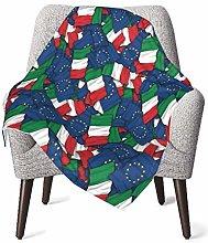 GOWINEU Baby Blankets Bed Bedding Cozy Stroller