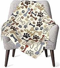 GOWINEU Baby Blankets Bed Bedding Lightweight Pet