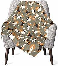 GOWINEU Baby Blankets Bed Bedding Soft Stroller