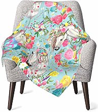 GOWINEU Baby Girls Sleep Blanket Throws Blanket