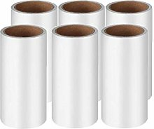 GOZAR 6 Pcs Lint Rollers Refill Quickly Removes
