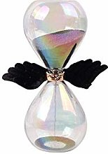 GPWDSN Hourglass timer, glass, wing shape, home