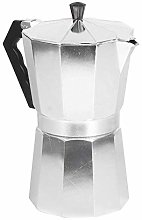 GPWDSN Silver Octagonal Coffee Pot Aluminium Pot