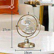 GPWDSN Simple modern metal hourglass timer