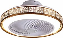Gqq Chinese style slim Ceiling Fan with Lights and