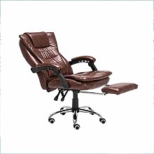 GQQ Desk Chair,Chair Reclining Rise with Footrest