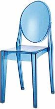 GQQ Desk Chair,Clear Plastic Chair with a Modern