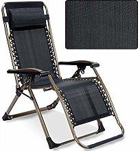 GQQ Desk Chair,Folding Recliner with Zero Gravity