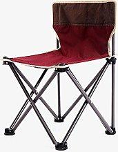 GQQ Desk Chair,Outdoor Folding Chair, Portable