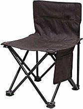 GQQ Desk Chair,Portable Outdoor Leisure Folding