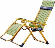 GQQ Desk Chair,Recliner Folding Chair Lazy Chair