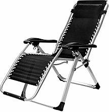 GQQ Desk Chair,Recliner Folding Chair Lunch Break