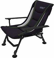 GQQ Desk Chair,Senior Folding Chair Recliner Chair