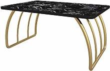GQQ Desk,Indoor Coffee Table, Artificial Marble