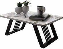 GQQ Desk,Marble Tea Table, Metal Multifunctional