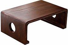 GQQ Desk,Vintage Side Table, Wooden Large Area Low