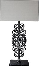 GQQ European Classical Hollow Carved Iron Table
