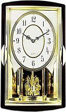 GQQ Home Wall Clock Battery Operated Musical