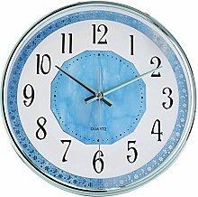 GQQ Home Wall Clock Battery Operated Non Ticking