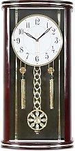 GQQ Home Wall Clock European Battery Operated