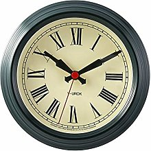 GQQ Home Wall Clock European Retro Aa Battery