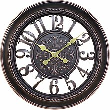 GQQ Home Wall Clock for Living Room Easy to Read