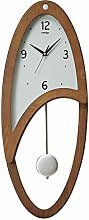 GQQ Home Wall Clock for Living Room Kitchen Easy