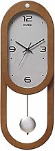 GQQ Home Wall Clock for Living Room Large Digital