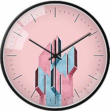 GQQ Home Wall Clock Nordic Aa Battery Operated Non