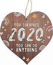 GQQ Juyuntong You Survived 2020 Wooden Heart -