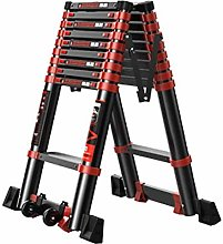GQQ Ladders,Portable Telescoping Ladders with