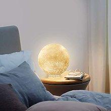 GQQ Office Room Desk Lamp Moon Lamp Romantic