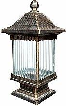 GQQ Post Lights,Outdoor Post Lamp Waterproof Ip55