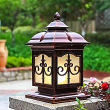 GQQ Post Lights,Retro Outdoor Post Lamp Ip55