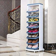 GQQ Shoe Storage 360 Degree Rotating Cabinet for