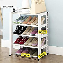 GQQ Shoe Storage Shoe Cabinet in Solid Wood with 4