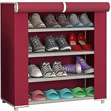 GQQ Shoe Storage Shoe Cabinet with Dust Coating,