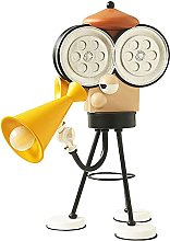 GQQ Video Camera Director Table Lamp, Cartoon
