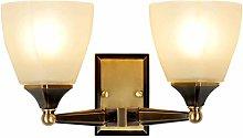 GQQ Vintage Wall Lamp Retro Copperwall Lamp