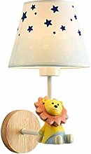 GQQ Vintage Wall Lamp Simple Children's Room