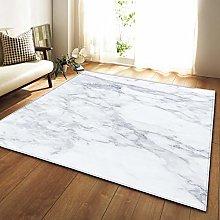 GQYJMSJS Carpet for living roomGrey marble 31.5 x