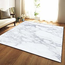 GQYJMSJS Carpet for living roomGrey marble 78.7 x