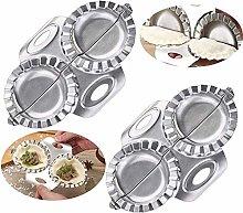 Gracelaza 2 Pcs Ravioli Dumpling Maker Set