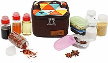 Gracelaza Camping Spice Jars Spice Containers Salt