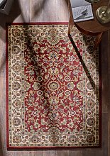 Gracie Cherry Runner Traditional Rug