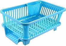 GRACY Plastic Kitchen Sink Dish Drainer - Drying